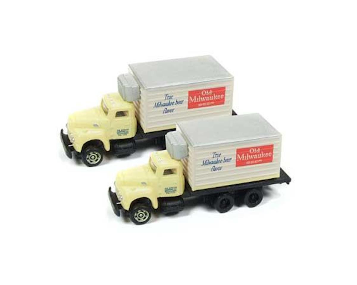 Classic Metal Works N IH R-190 Reefer Truck, Old Milwaukee Beer