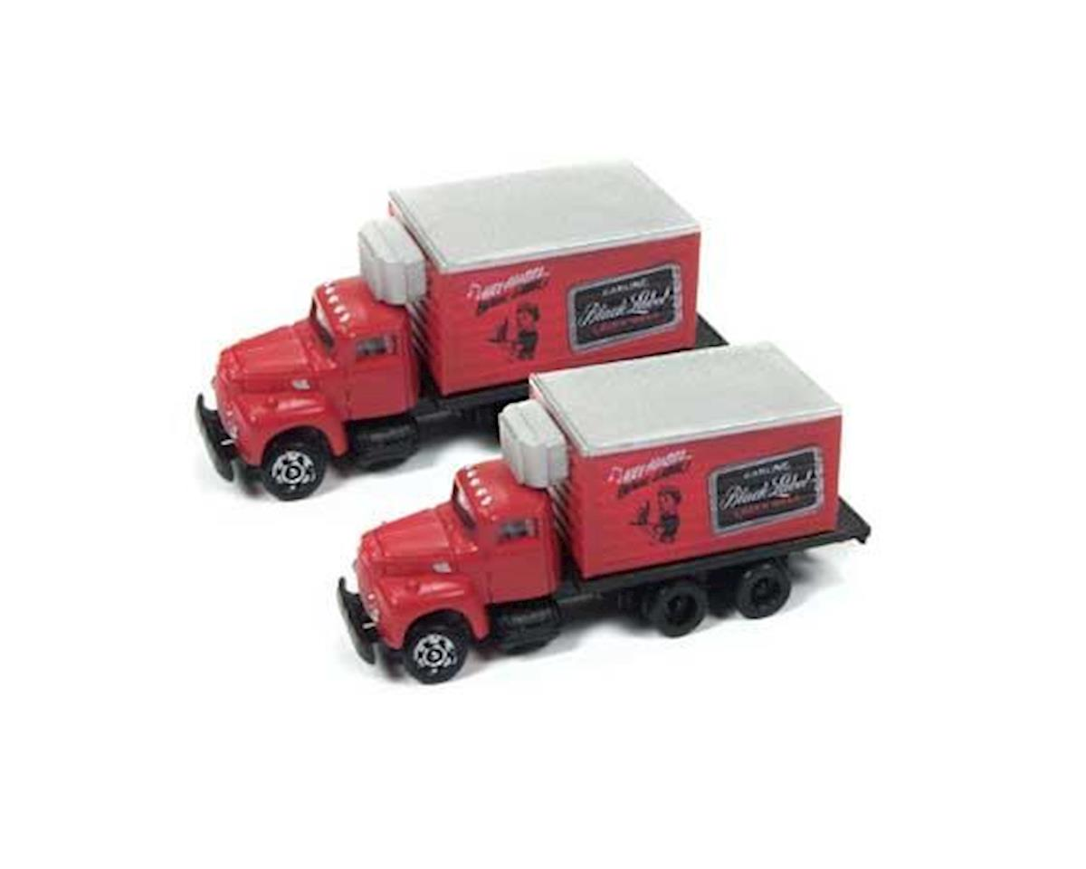 Classic Metal Works N IH R-190 Reefer Truck,Carling Black Label Beer(2