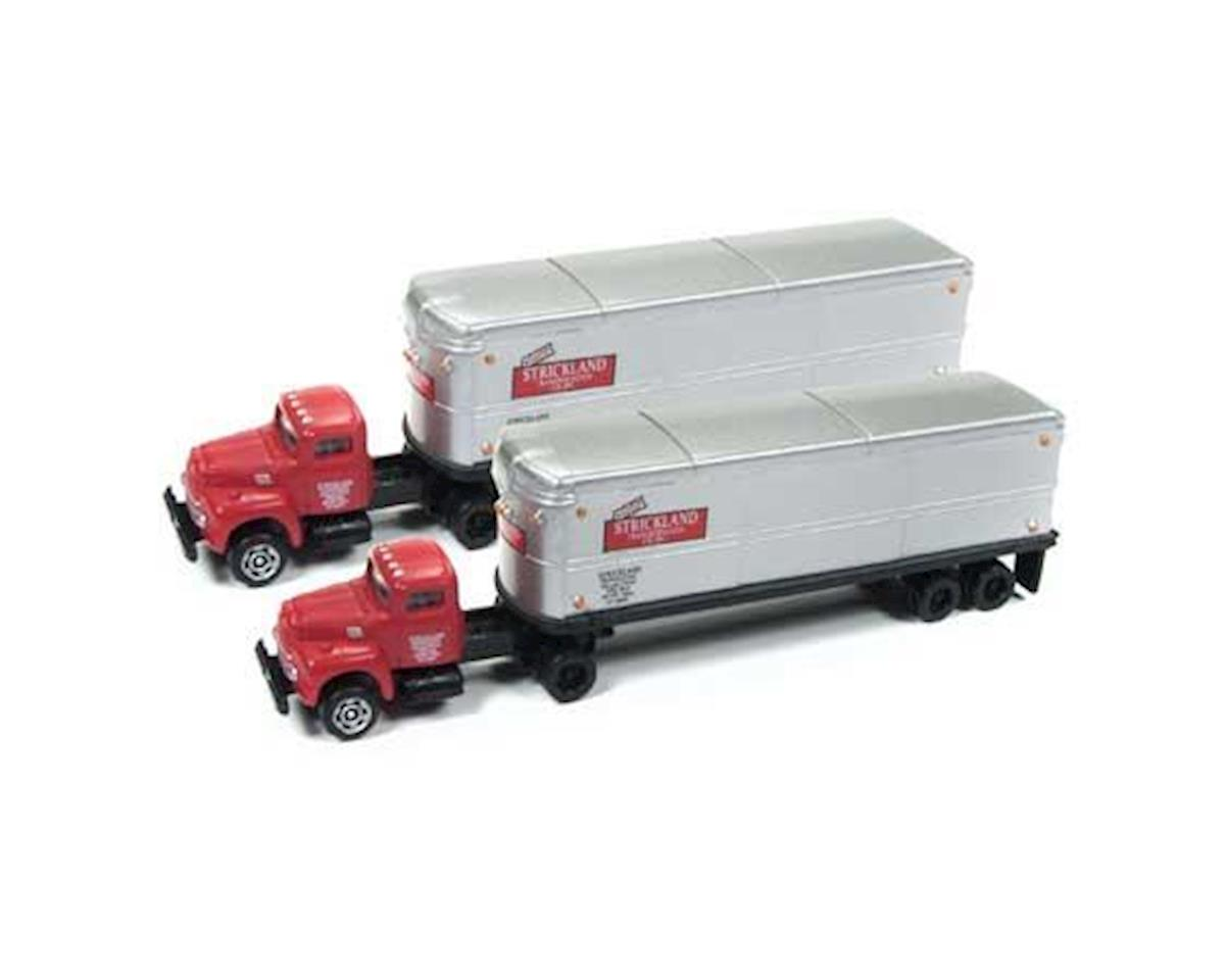 Classic Metal Works N IH R-190 Tractor/Trailer Set, Strickland (2)