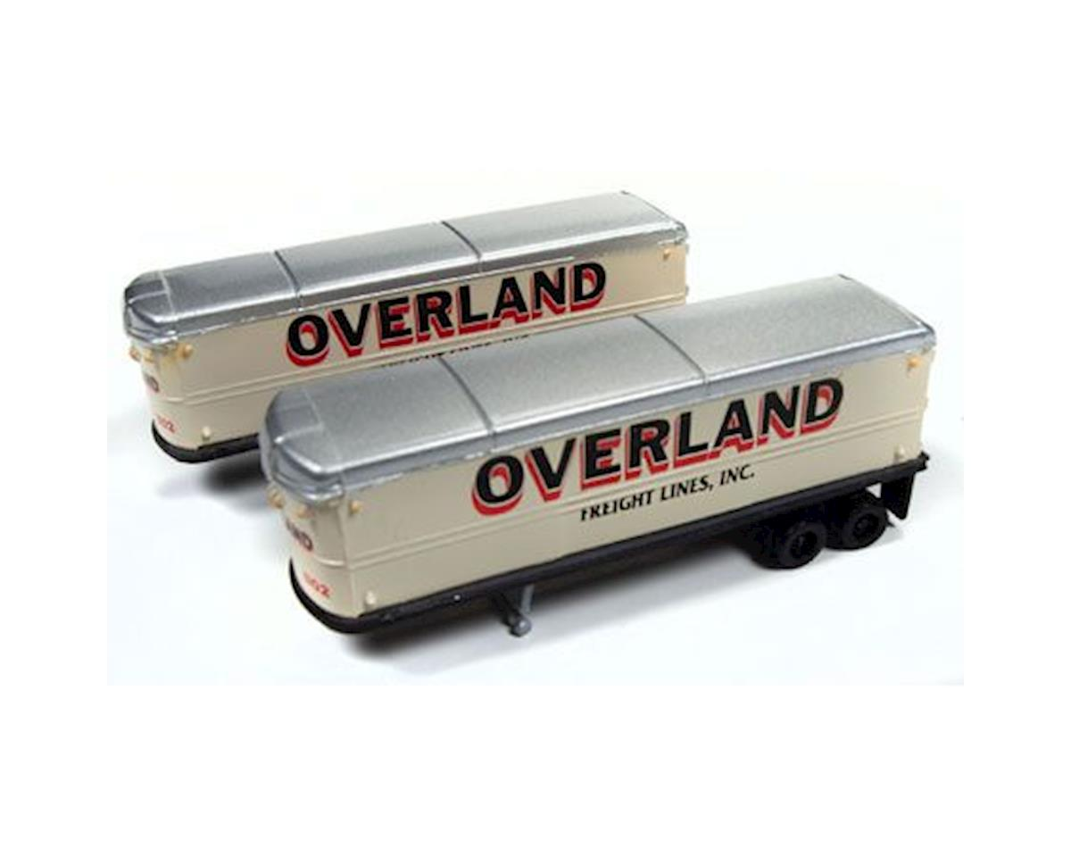 Classic Metal Works N 1941-1950 AeroVan Trailer, Overland Freight (2)