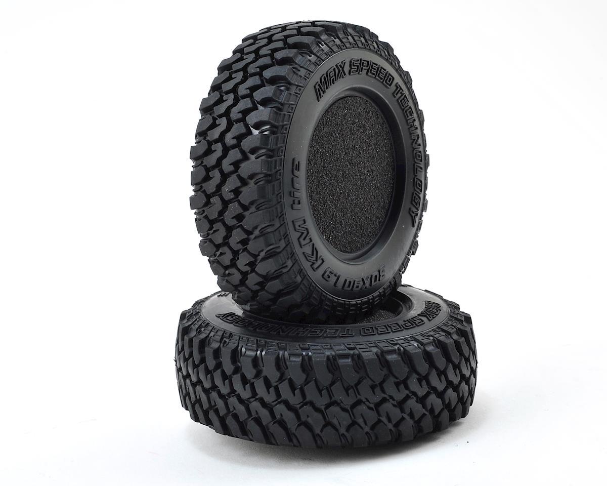 "MST KM 1.9"" Crawler Tire (Soft-30°) (2)"