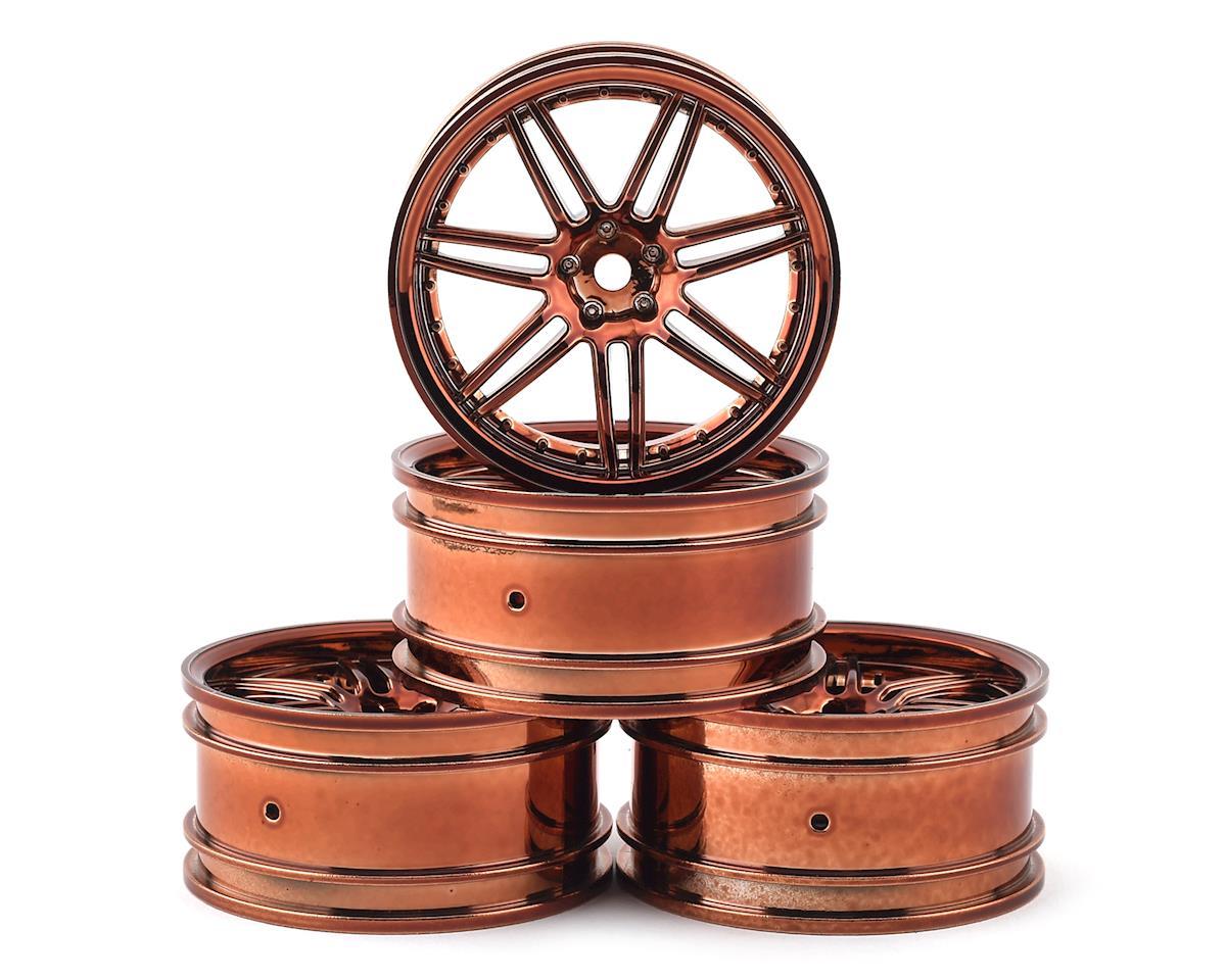 MST X603 Wheel Set (Copper) (4) (+8 Offset)