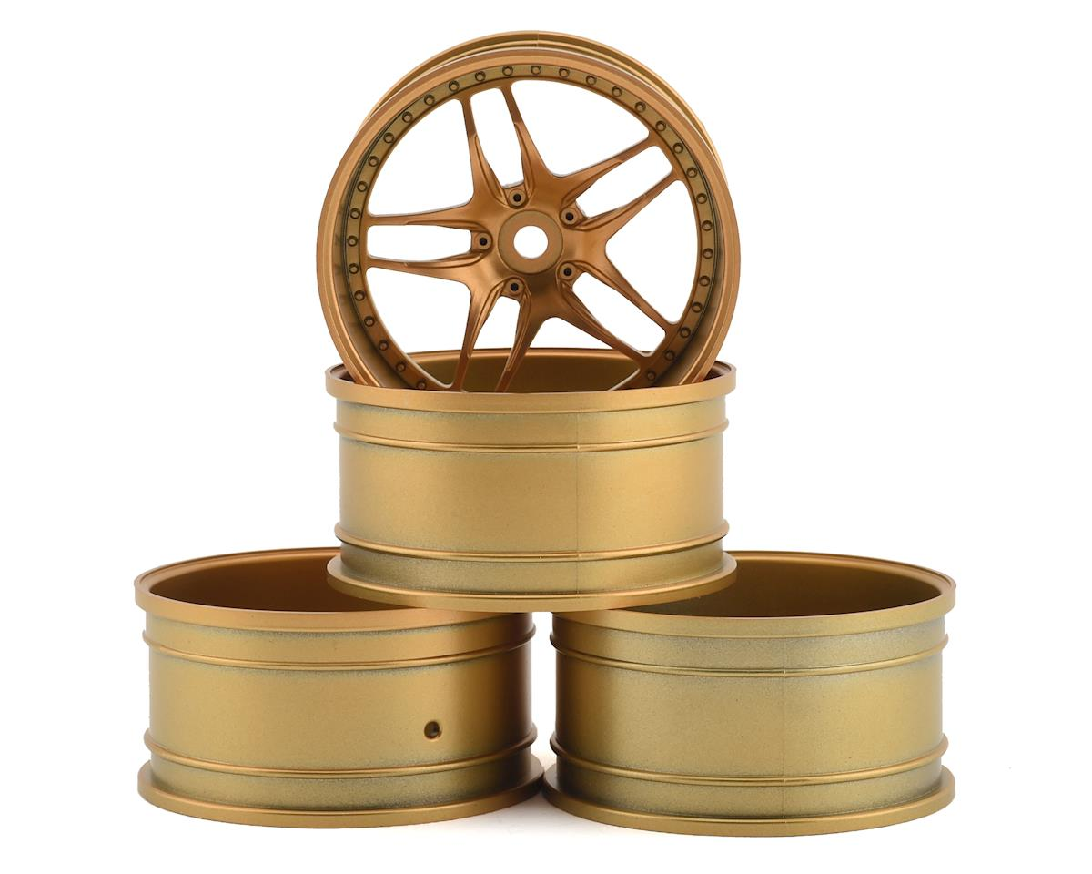 MST FB Wheel Set (Gold) (4) (+11 Offset)
