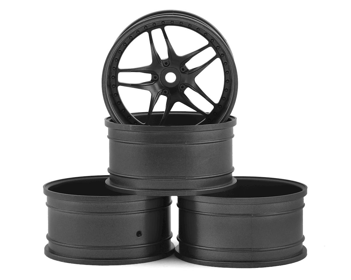 MST FB Wheel Set (Grey) (4) (+11 Offset)