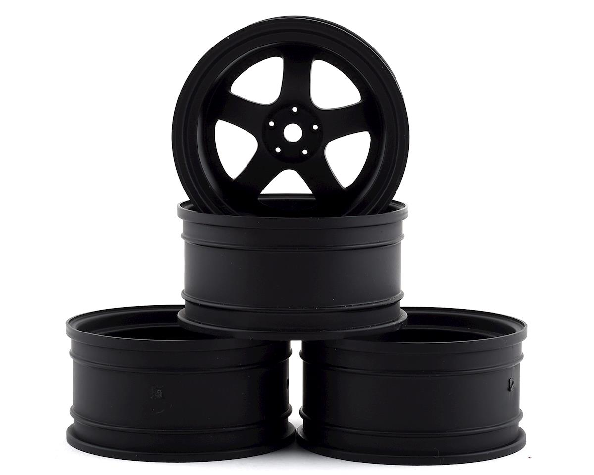 MST SP1 Wheel Set (Flat Black) (4) (+9 Offset)