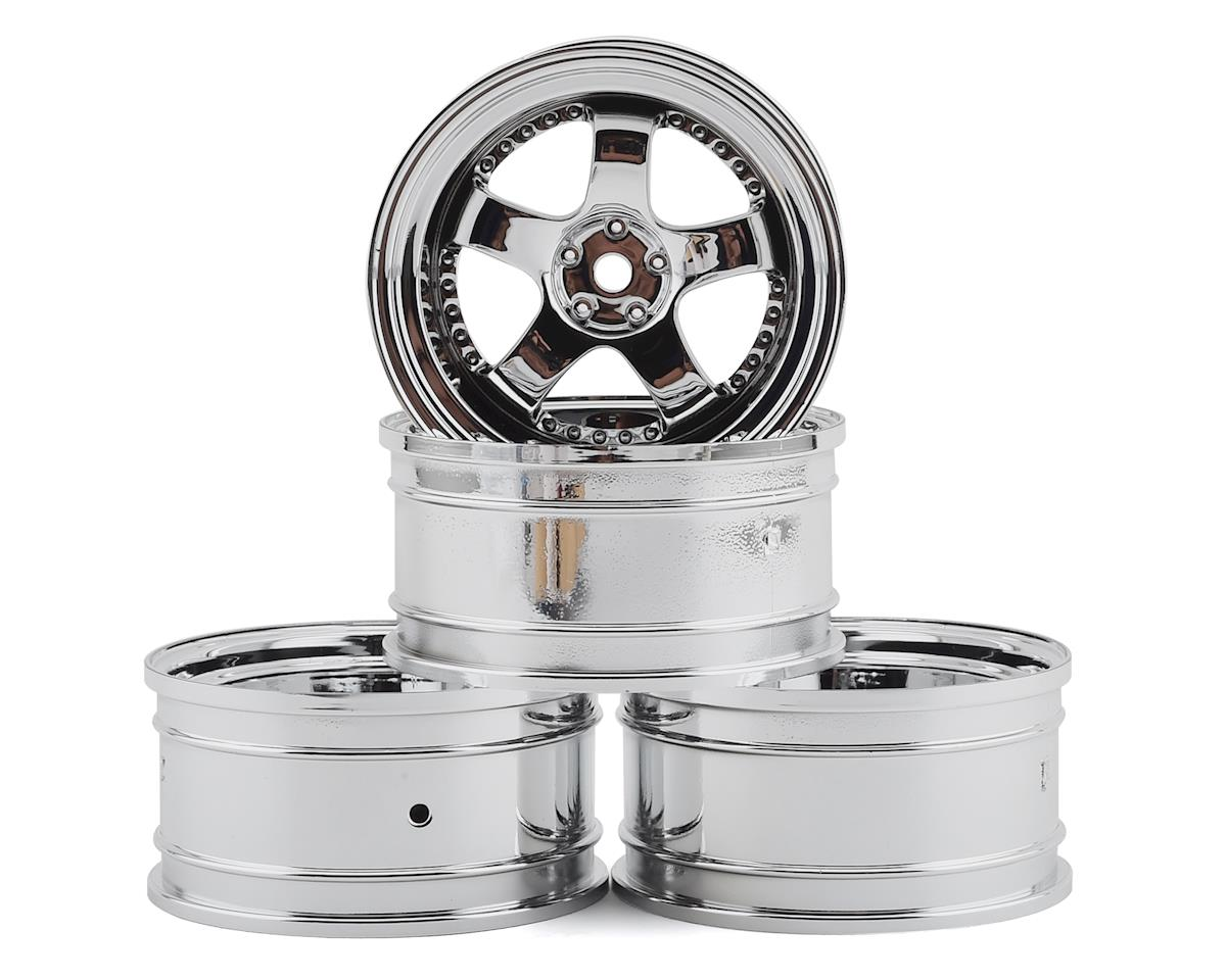 MST SP1 Wheel Set (Silver) (4) (+9 Offset)