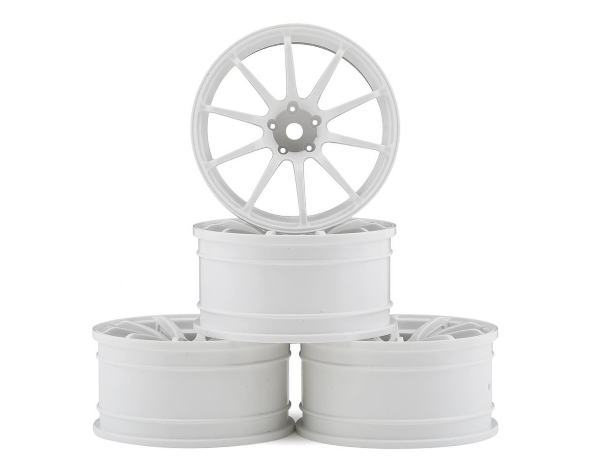 MST FXX-D RS II Wheel Set (White) (4) (+9 Offset)