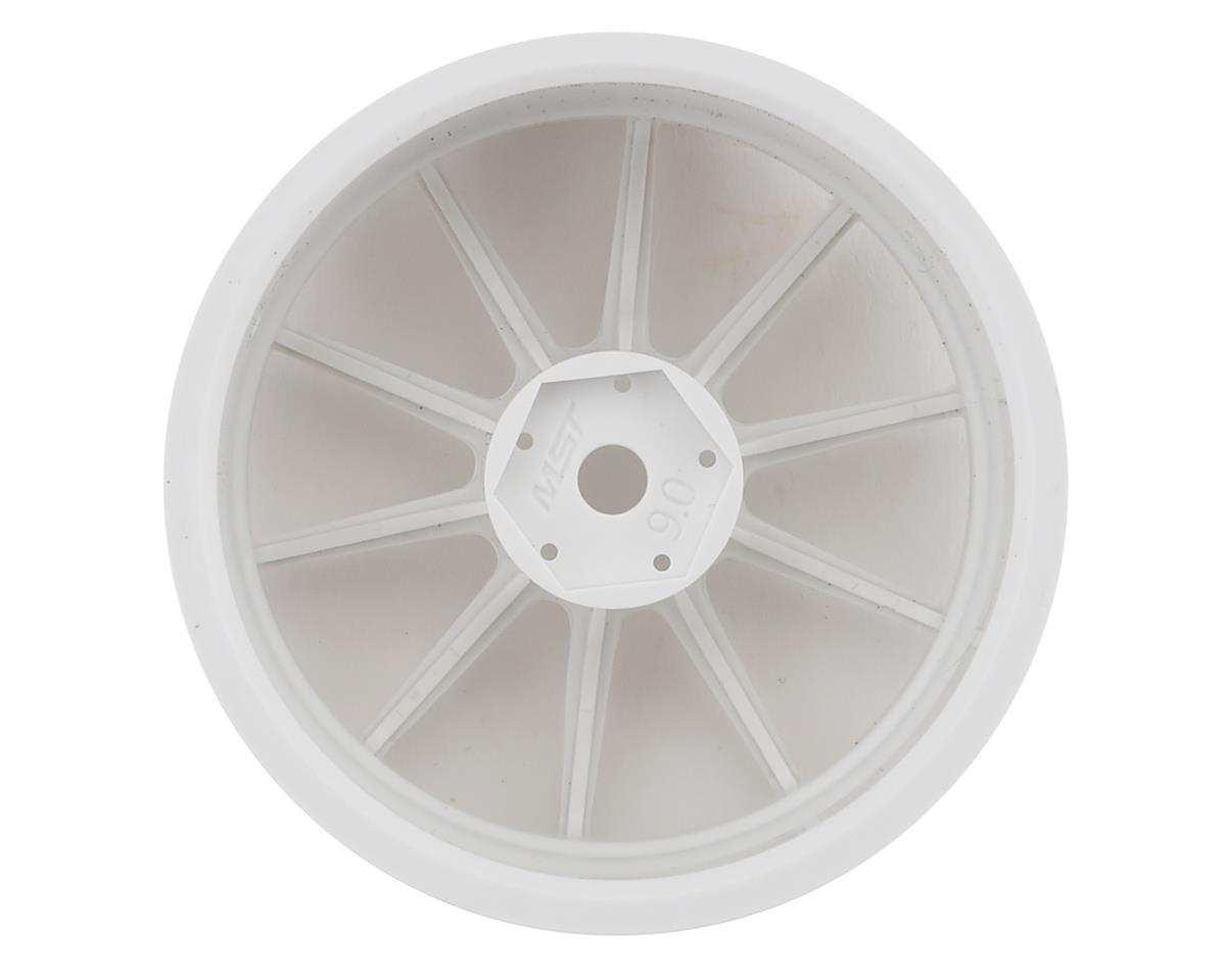 MST RS II Wheel Set (White) (4) (+9 Offset)
