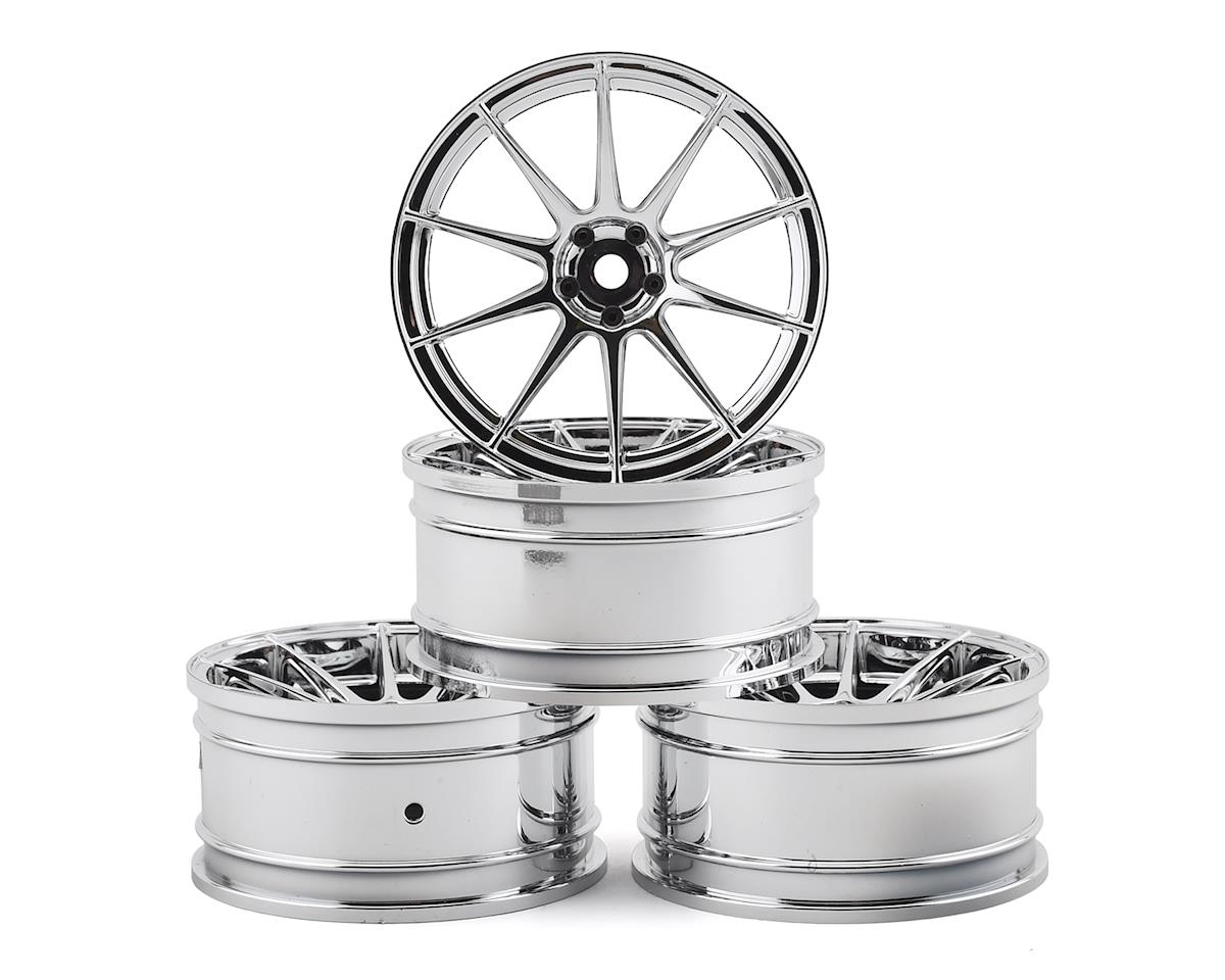 MST 5H Wheel Set (Silver) (4) (+7 Offset)