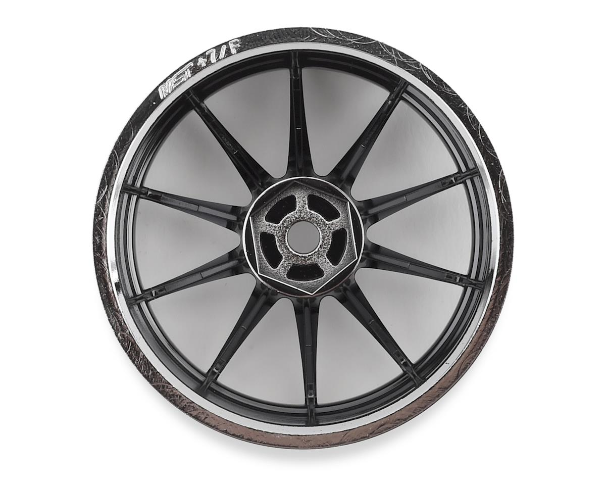 MST 5H Wheel Set (Silver) (4) (+7 Offset)
