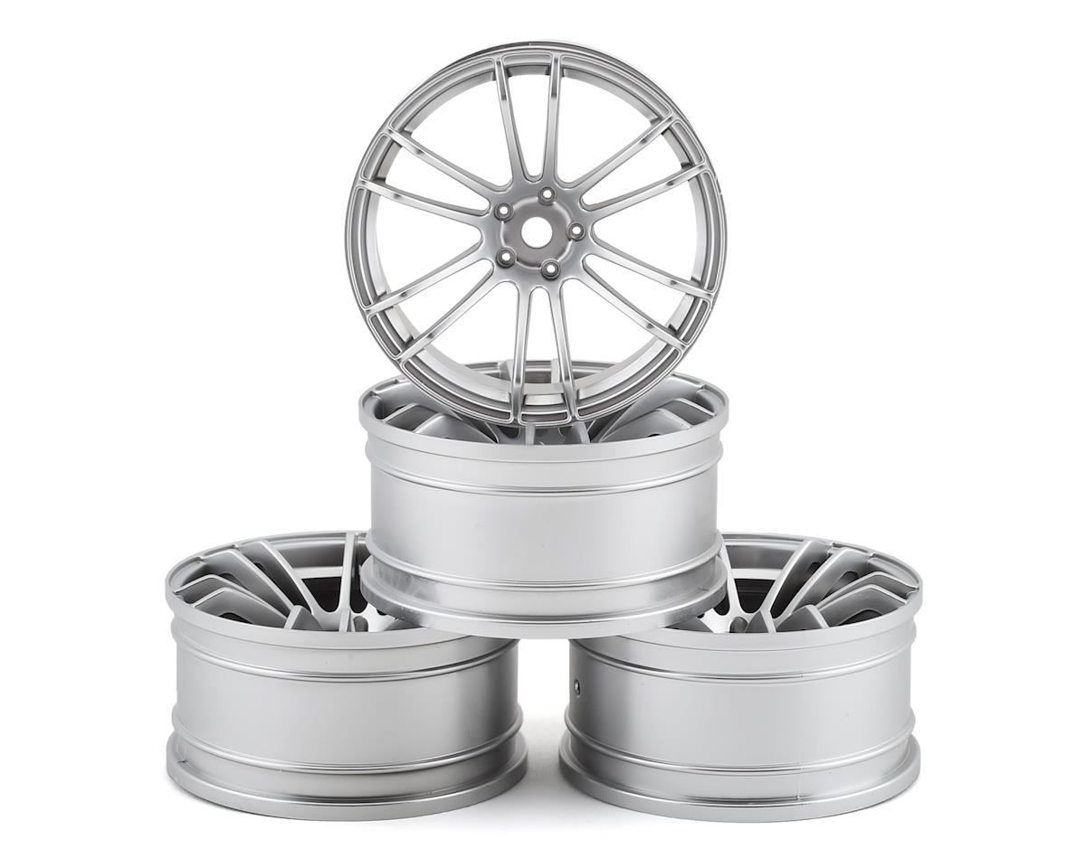 MST TSP Wheel Set (Flat Silver) (4) (+5 Offset)