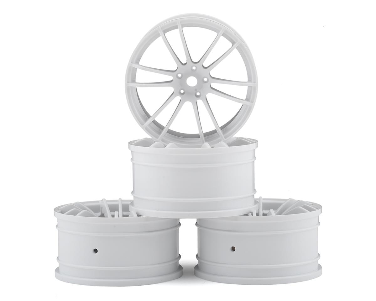 MST TSP Wheel Set (White) (4) (+5 Offset)