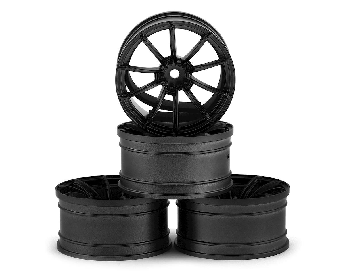 MST GTR Wheel Set (Black) (4) (+9 Offset)