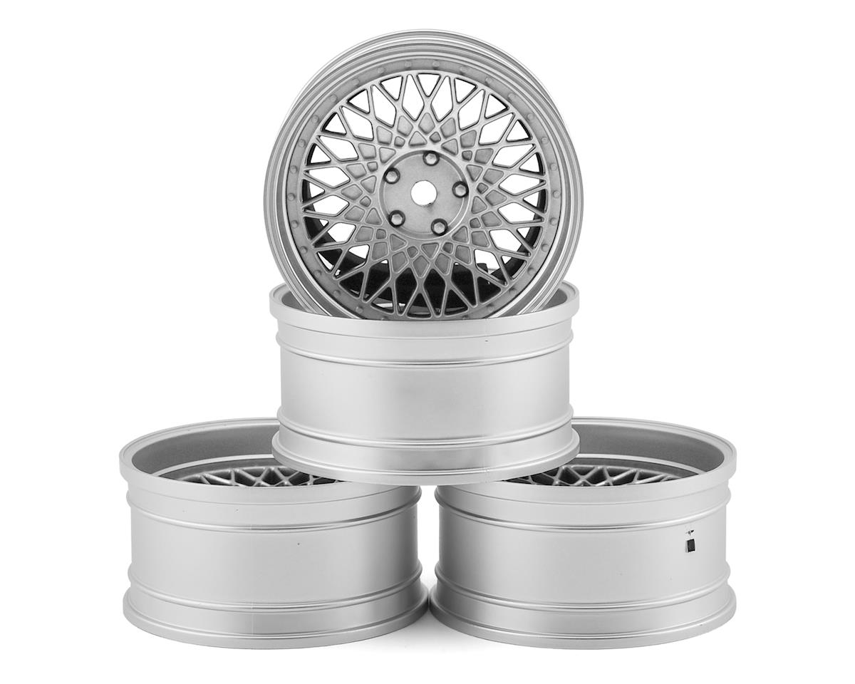 MST FXX-D 501 Wheel Set (White) (4) (Offset Changeable)