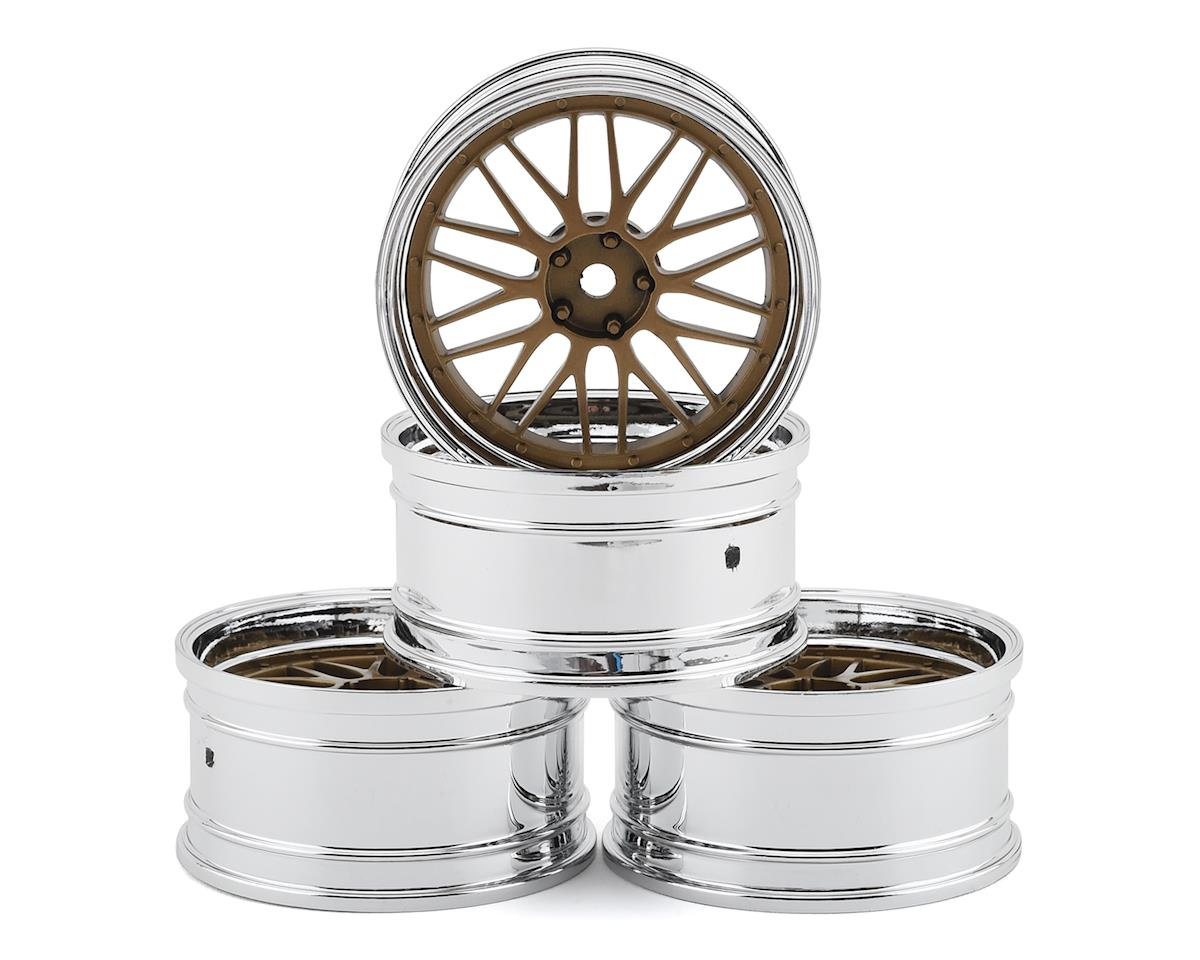 MST LM Wheel Set (Gold) (4) (Offset Changeable)