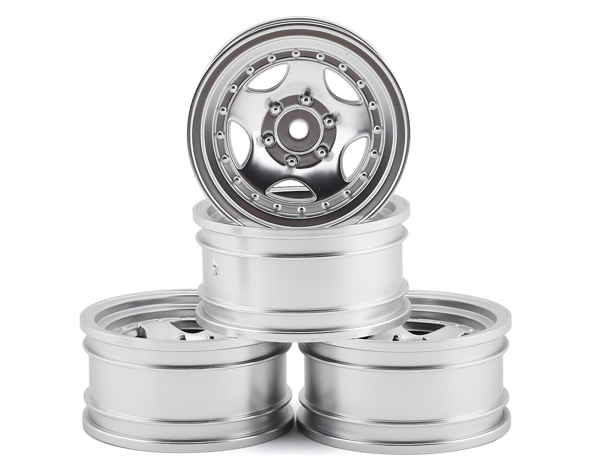 MST 236 Wheel Set (Flat Silver) (4) (+5 Offset)