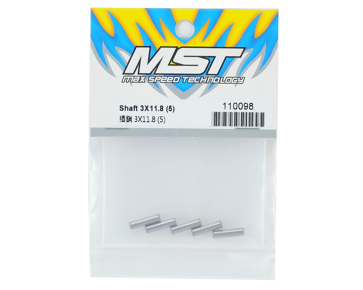 MST 3x11.8mm Shaft (5)