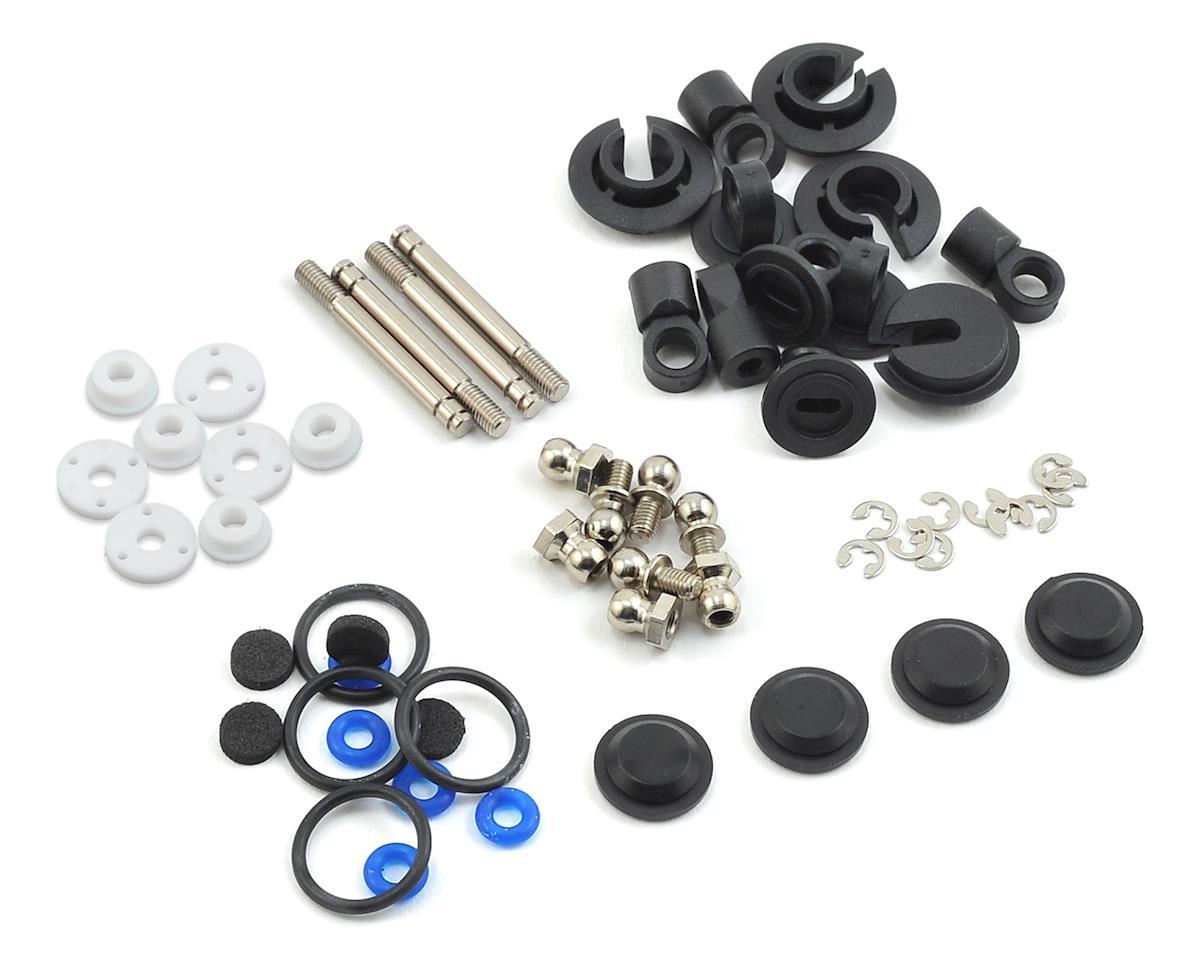 MST FXX-D Aluminum Damper Set (Silver) (4)