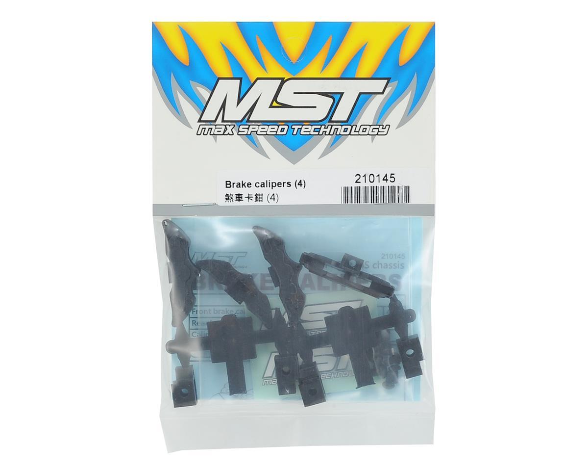 MST FXX-D Brake Calipers (Black) (4)