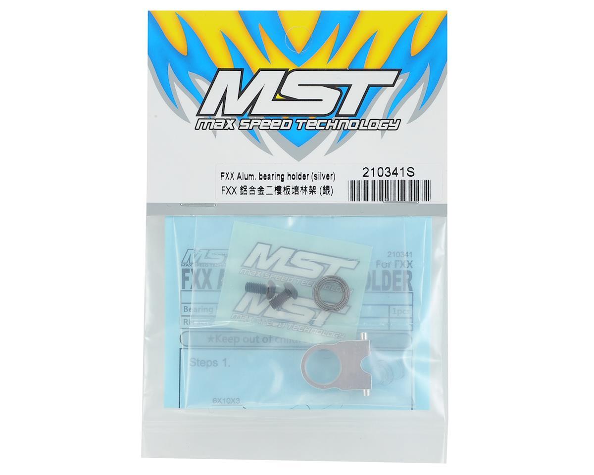 MST FXX-D Aluminum Bearing Holder (Silver)