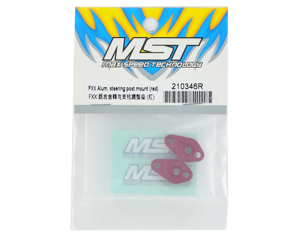 MST FXX-D Aluminum Steering Post Mount (Red)