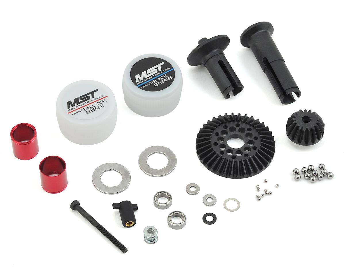 FXX-D Ball Differential Set (Red) by MST