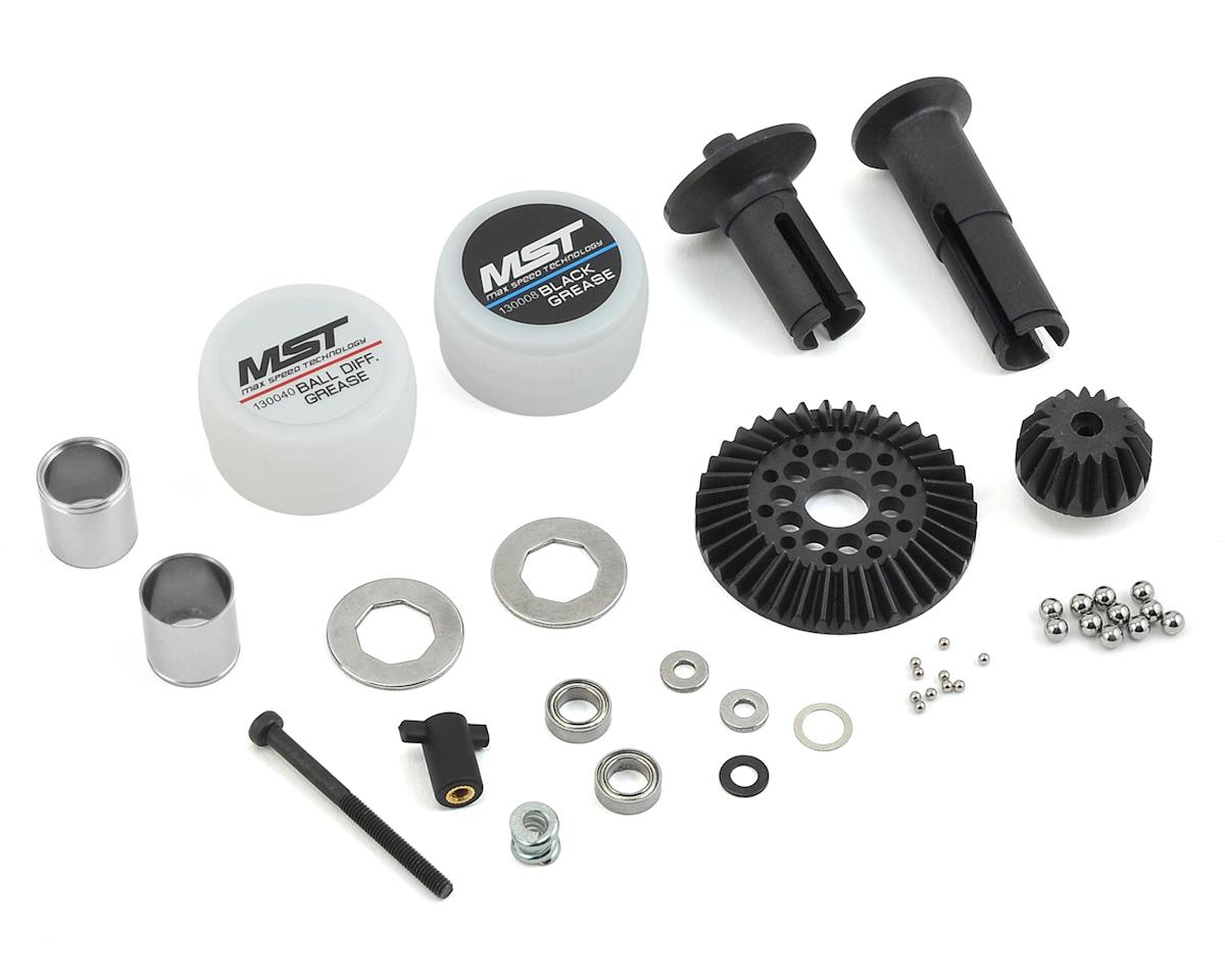 MST FXX-D Ball Differential Set (Silver)