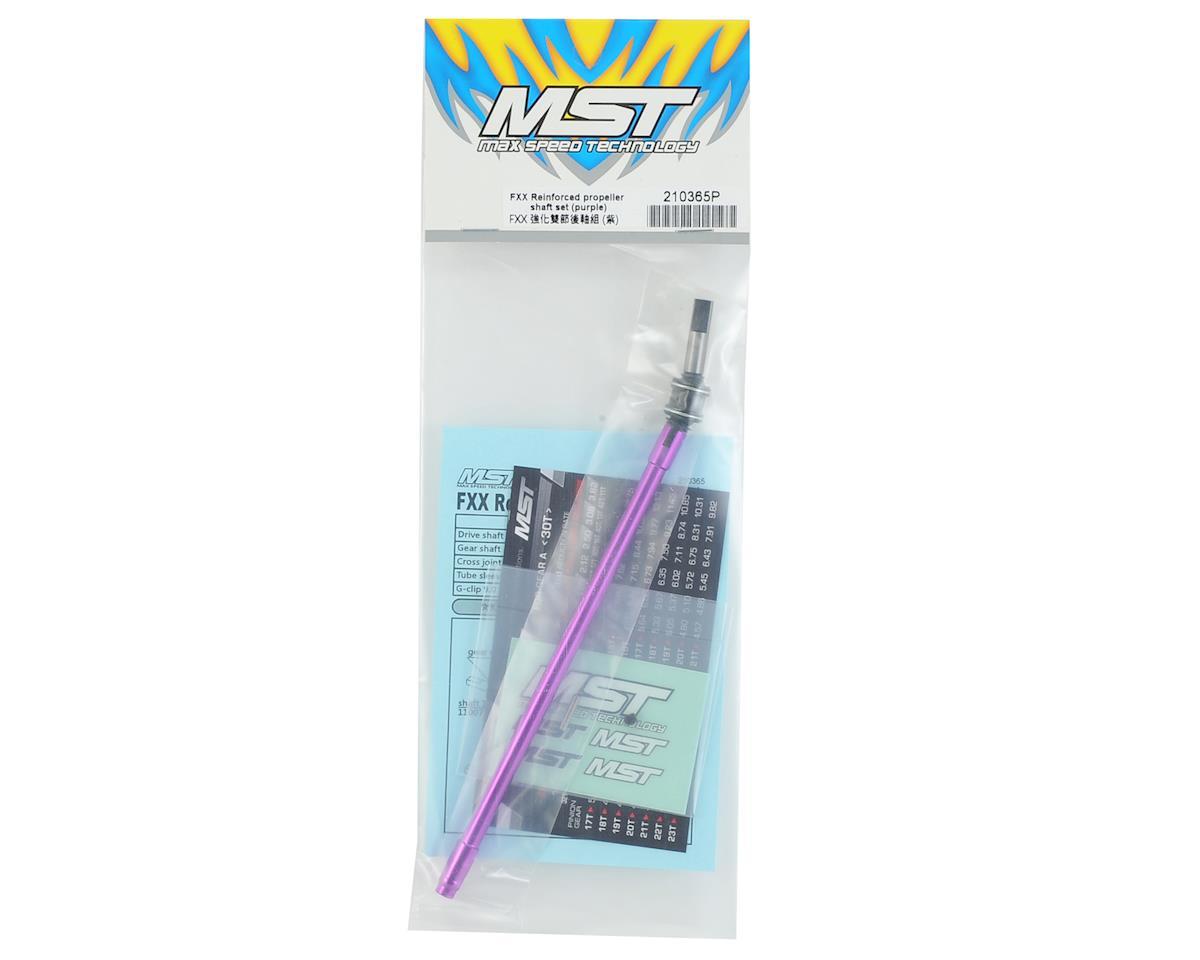 MST FXX-D Reinforced Propeller Shaft Set (Purple)