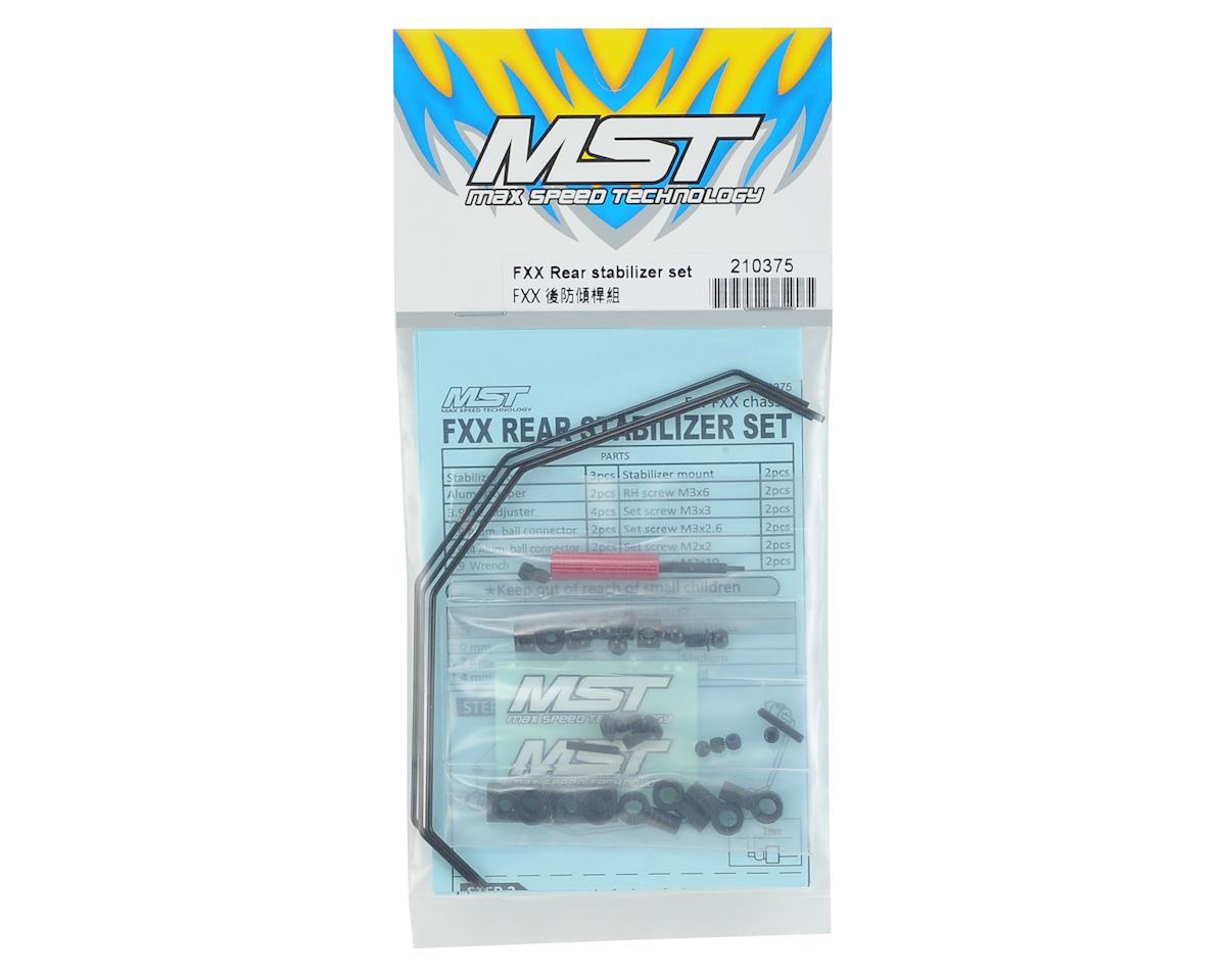 MST FXX-D Rear Stabilizer Set