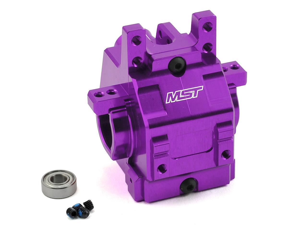 MST FXX-D Aluminum Rear Gear Box (Purple)