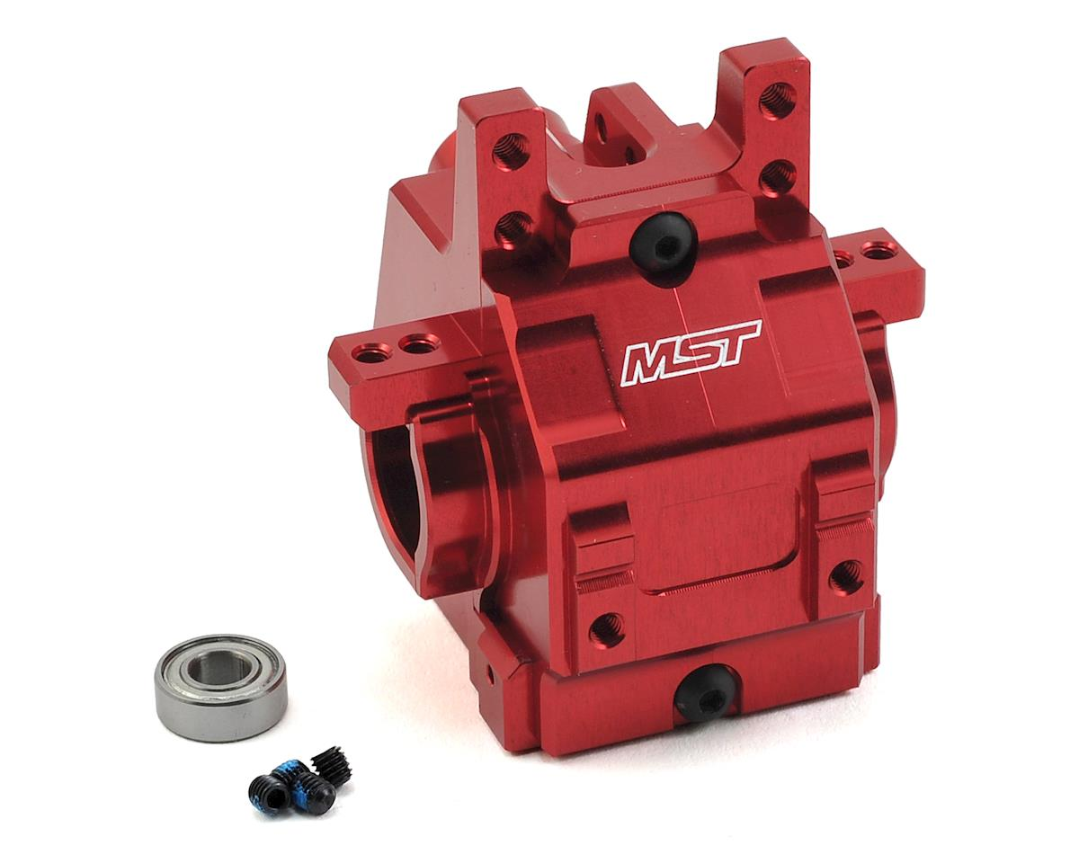 MST FXX-D Aluminum Rear Gear Box (Red)