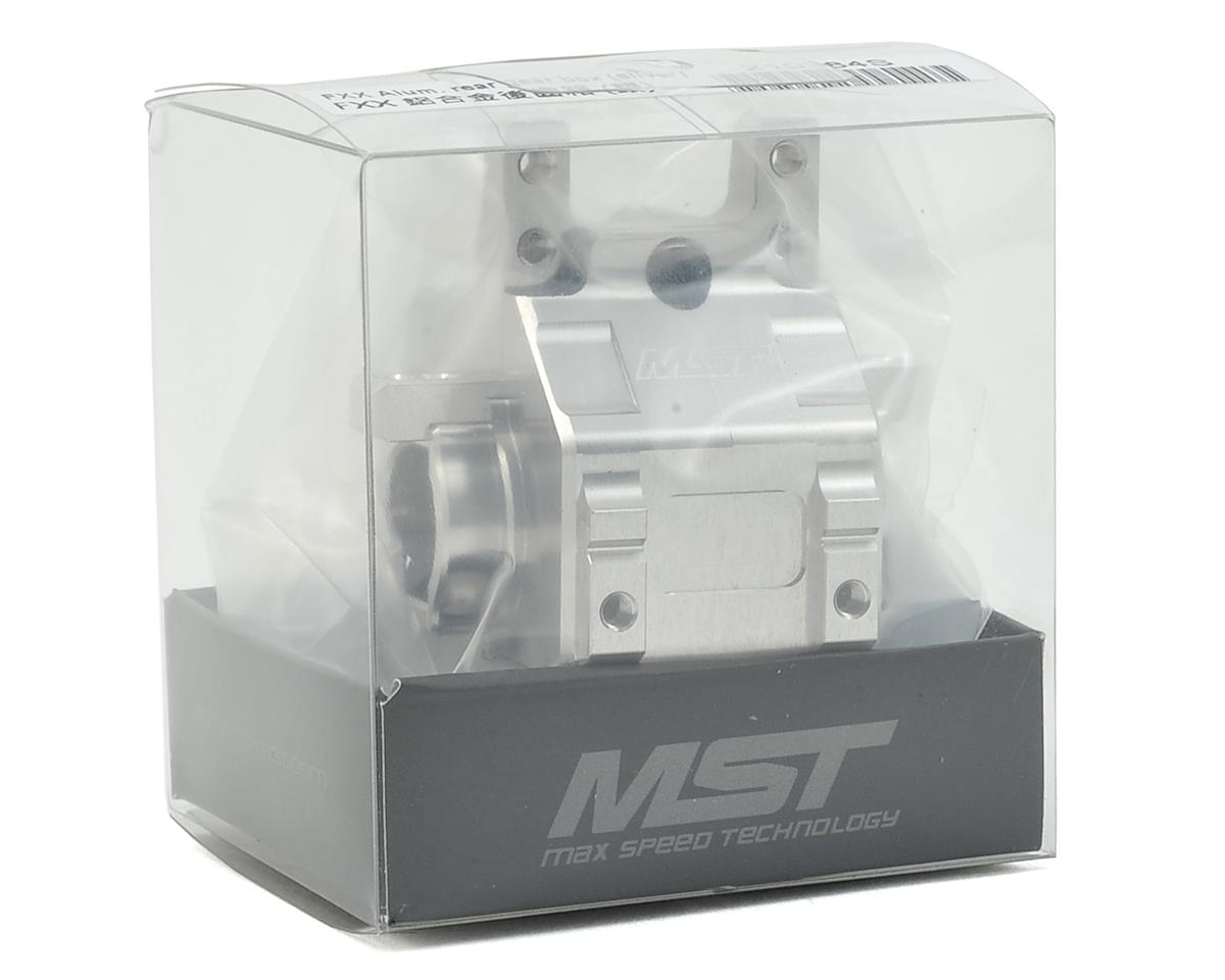 MST FXX-D Aluminum Rear Gear Box (Silver)