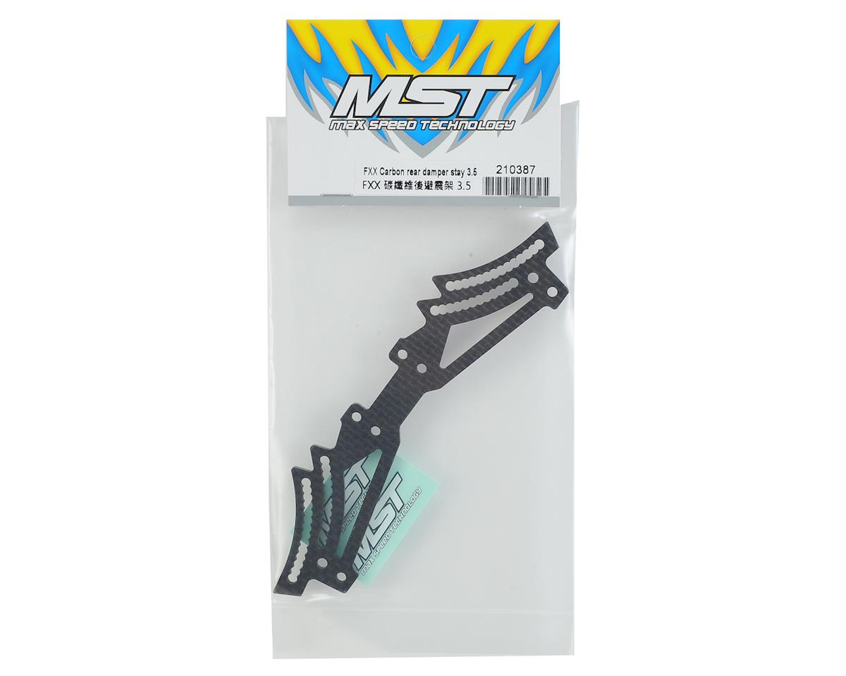 MST FXX-D 3.5mm Carbon Rear Damper Stay