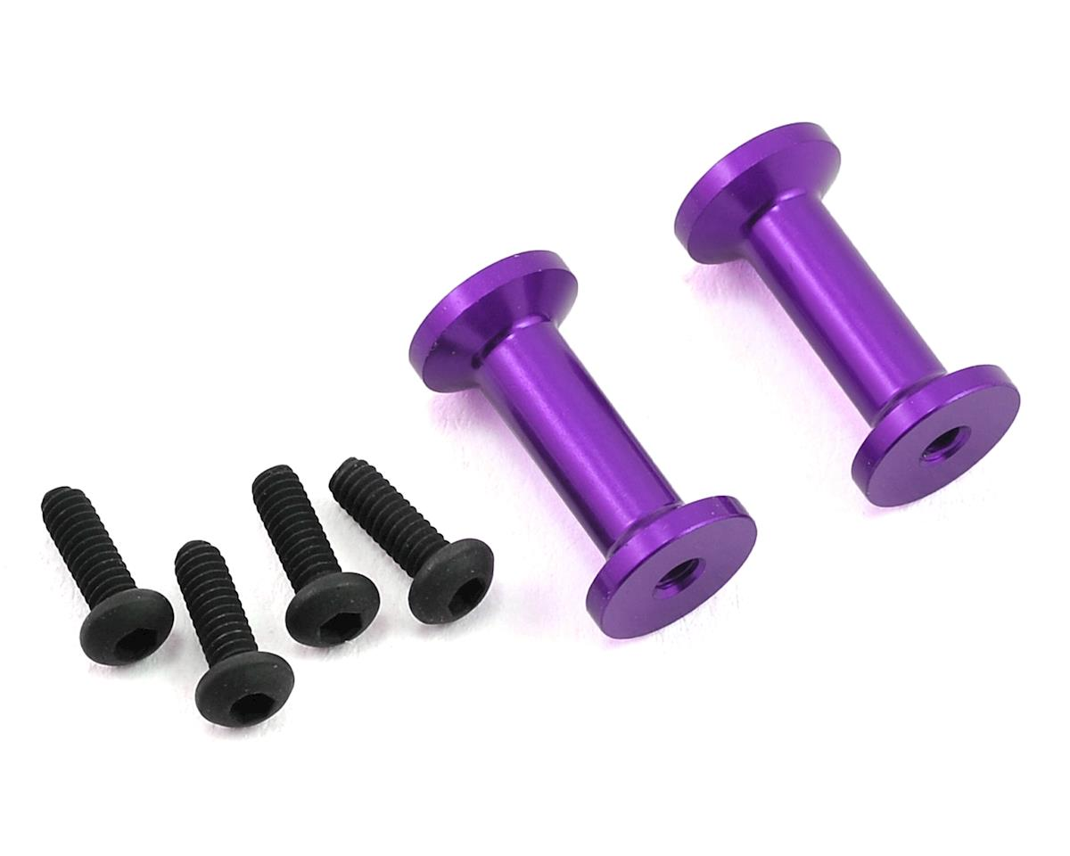 MST FXX-D Aluminum Strengthen Post (Purple) (2)