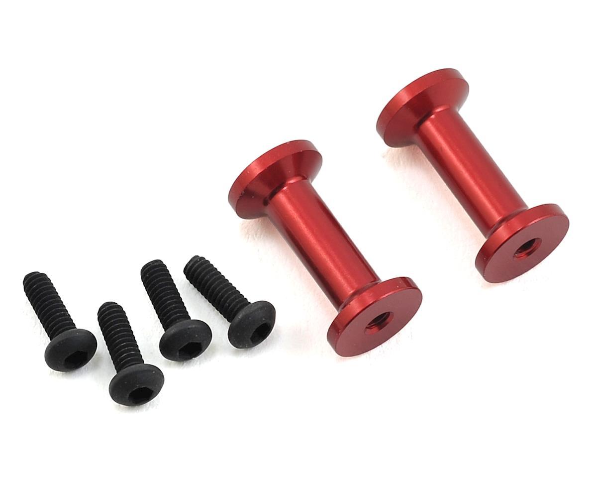 MST FXX-D Aluminum Strengthen Post (Red) (2)