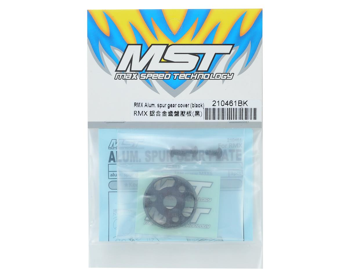 MST RMX Aluminum Spur Gear Cover (Black)