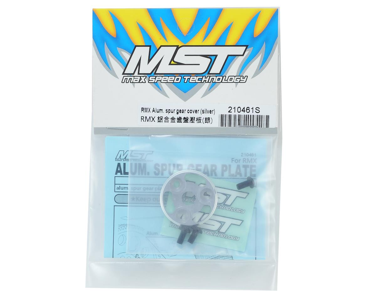 MST RMX Aluminum Spur Gear Cover (Silver)