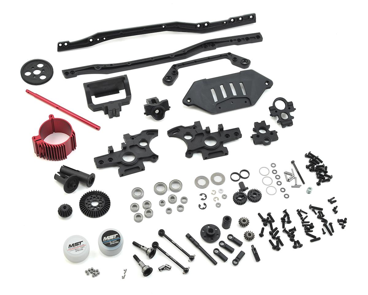 MST FXX-D S 4WD Lateral Motor Kit (Red)