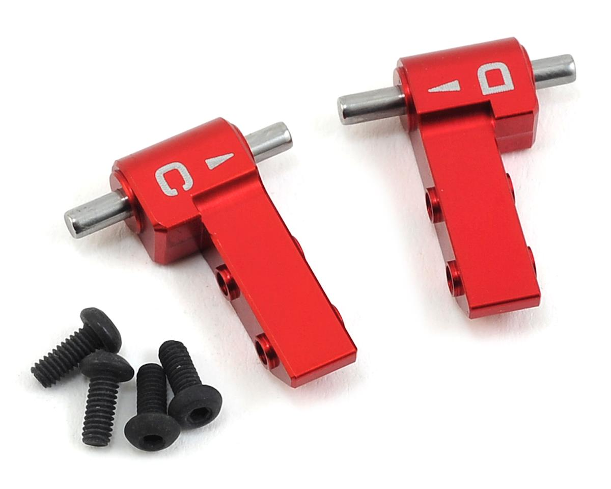 MST FXX-D Aluminum HT Upper Arm (Red) (C & D)