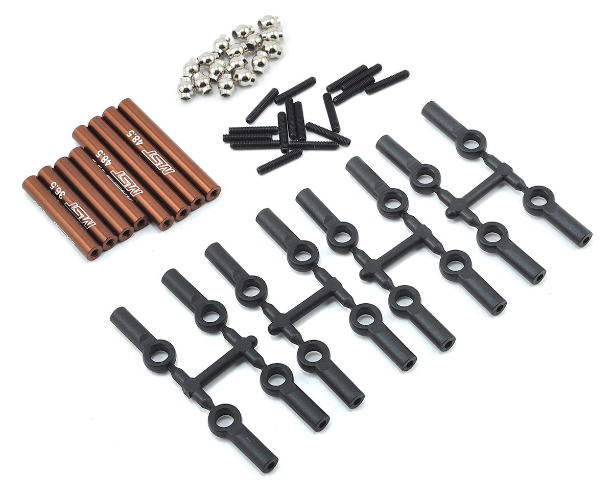 MST Aluminum Link Set (242mm) (Brown)