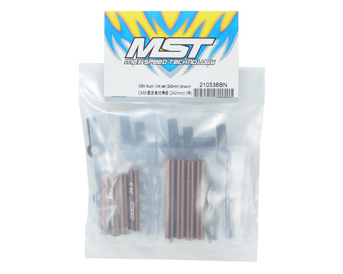 MST Aluminum Link Set (242mm) (Brown)
