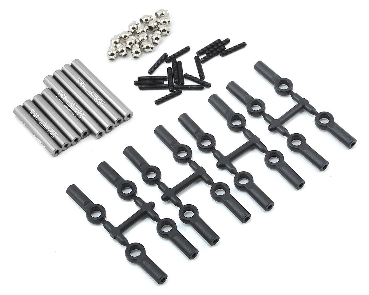 MST CMX Aluminum Link Set (242mm) (Silver)
