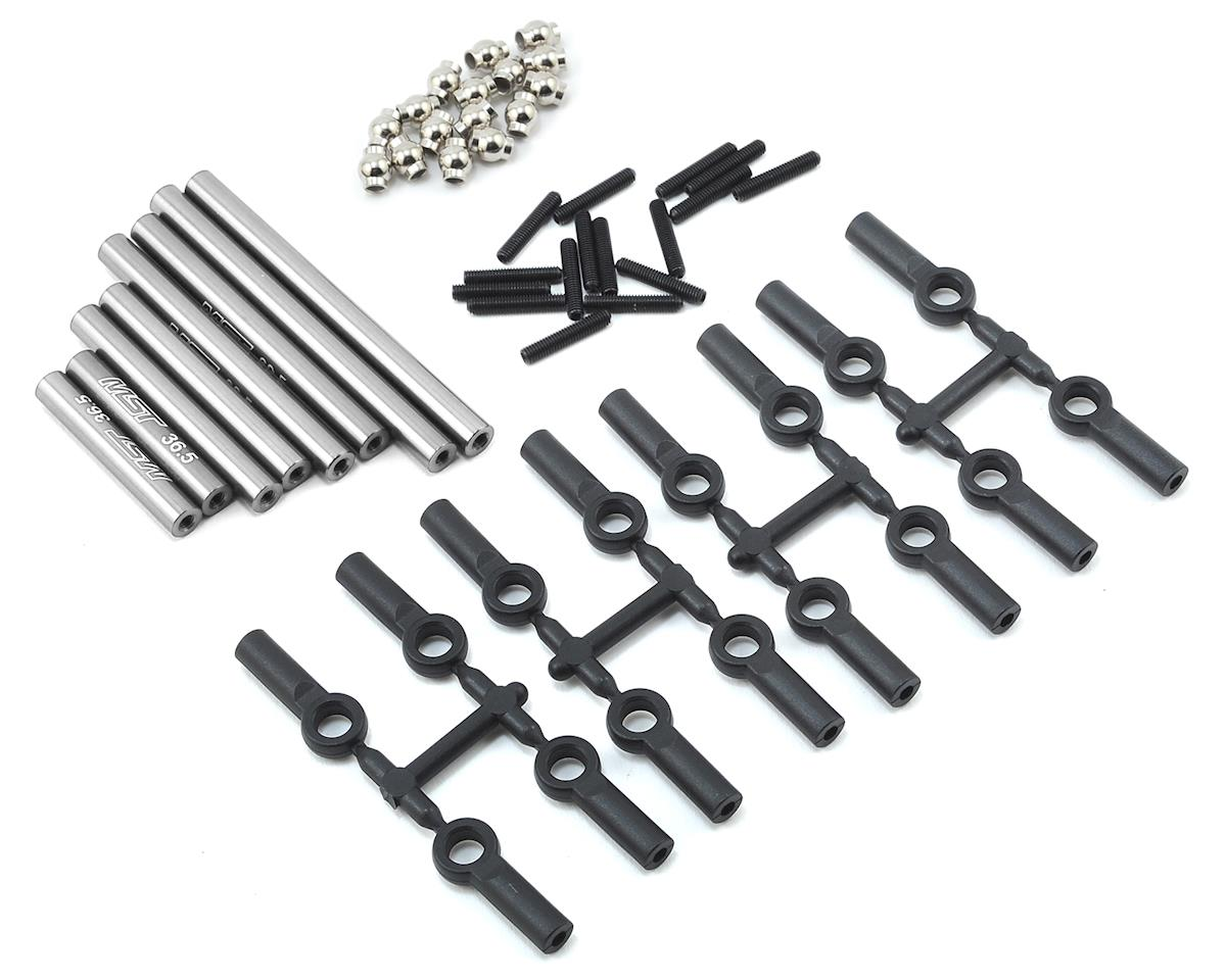 Aluminum Link Set (267mm) (Silver) by MST