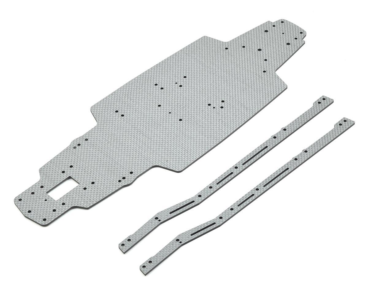 MST FXX-D Carbon Mid-Motor Deck Set (Silver)
