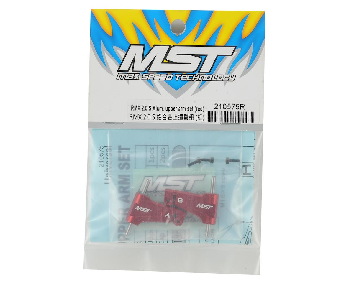 MST RMX 2.0 Aluminum Upper Arm Set (Red)