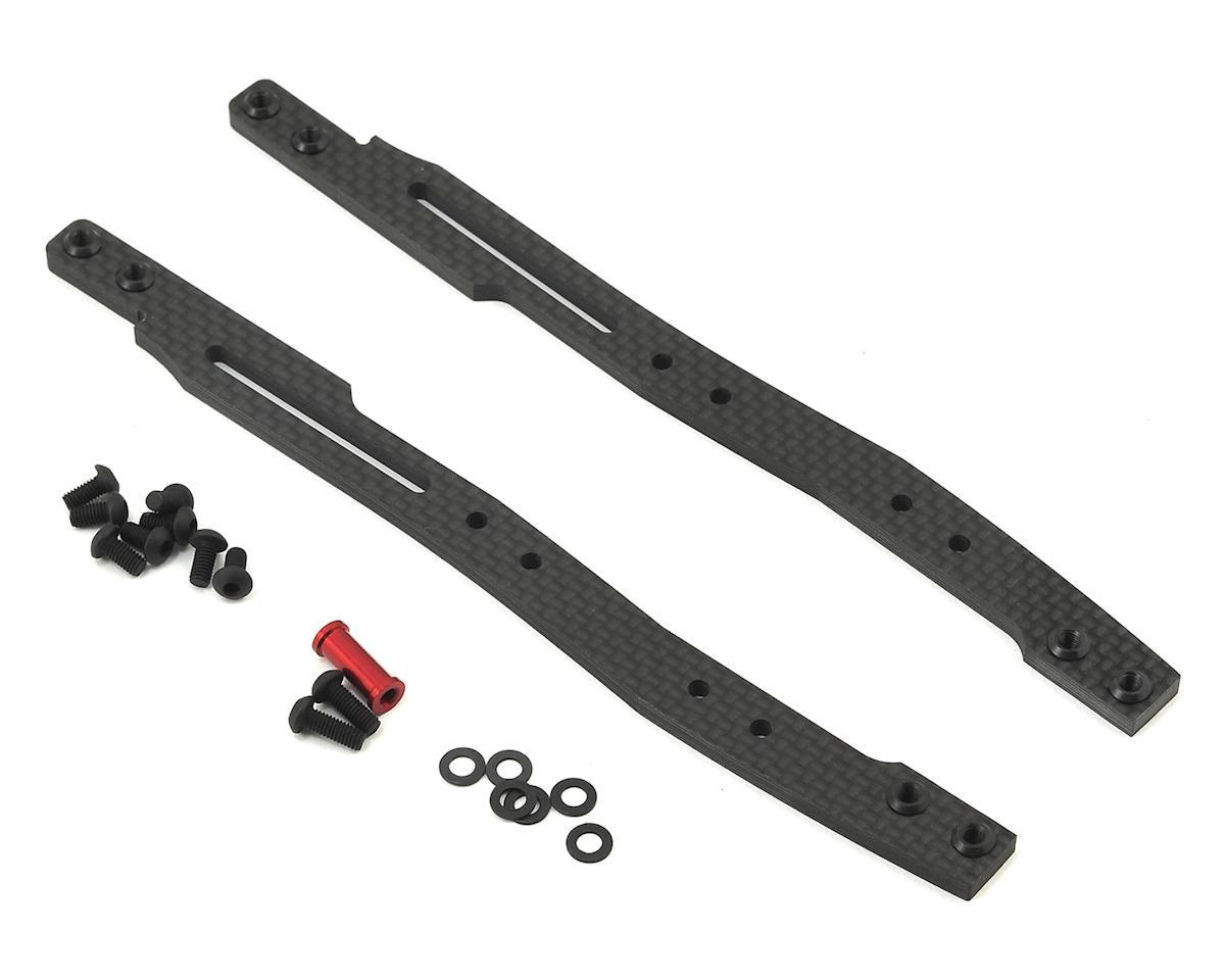 MST RMX 2.0 3.5mm Carbon Fiber Upper Deck Set (Red)