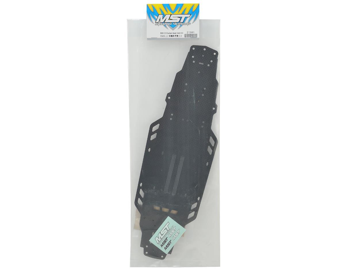 MST RMX 2.0 3mm Carbon Lower Deck