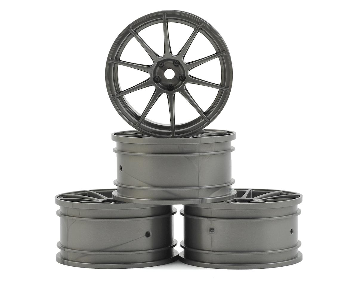 5H Wheel Set (Silver Grey) (4) (+1) by MST MS-01D