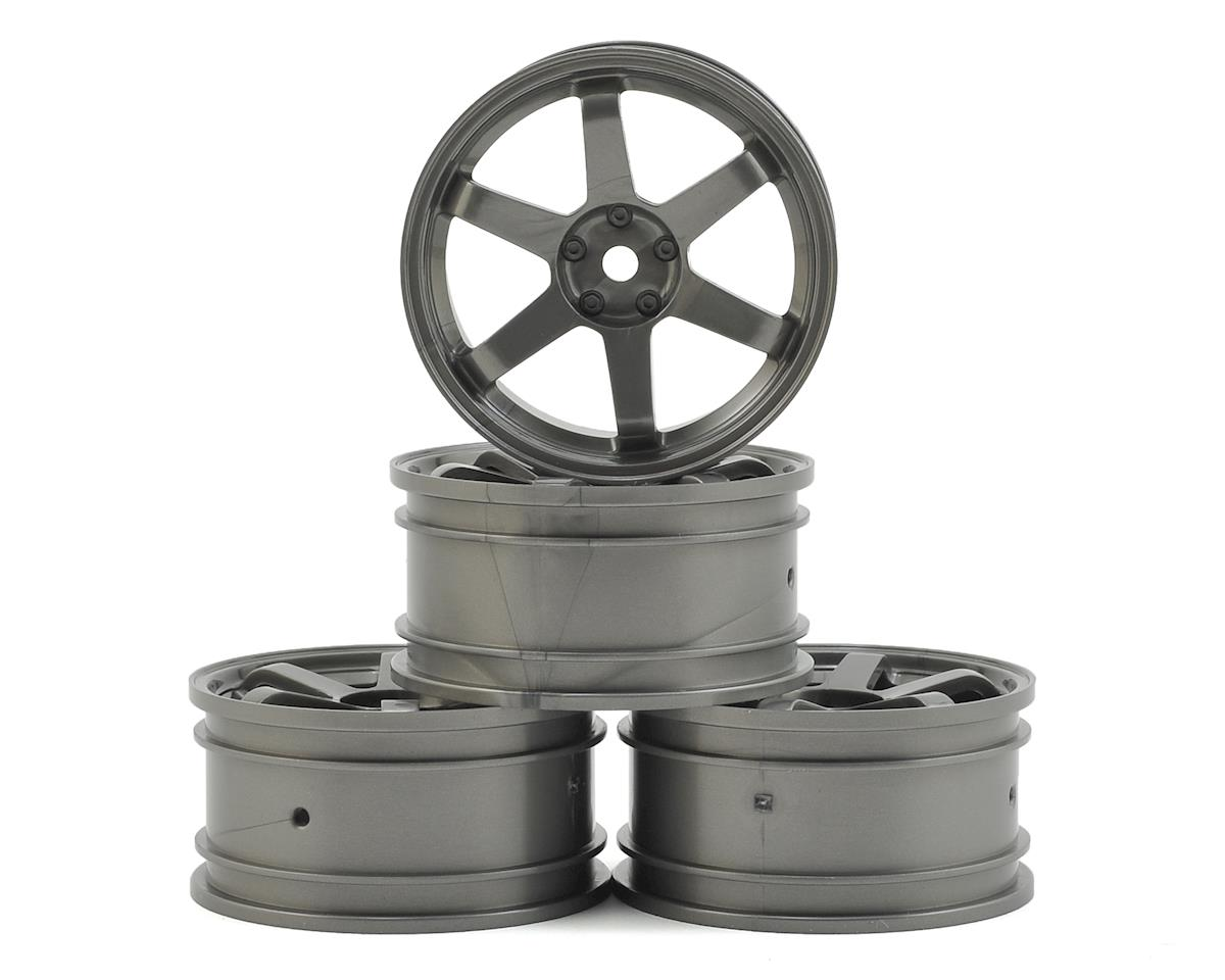 TE Wheel Set (Silver Grey) (4) (+1) by MST