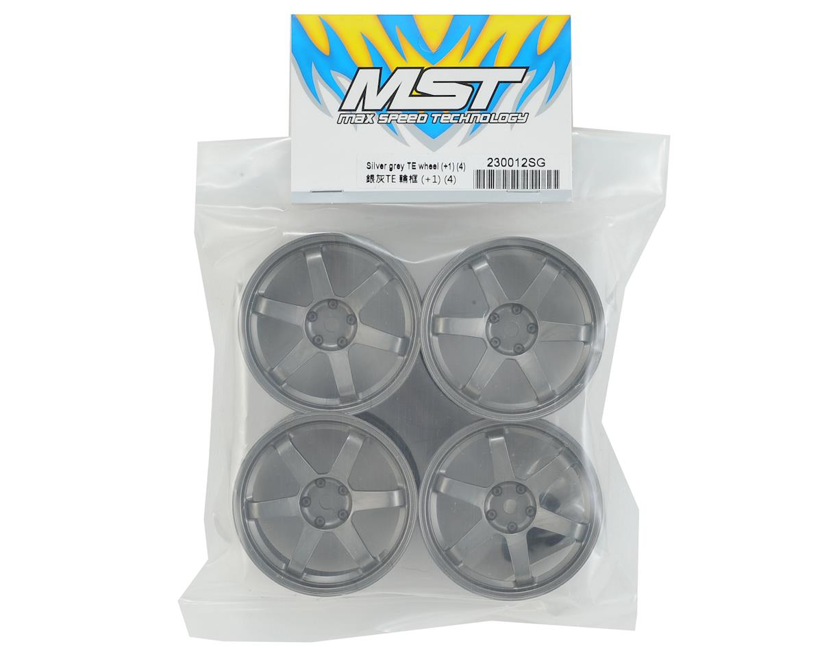 MST TE Wheel Set (Silver Grey) (4) (+1)